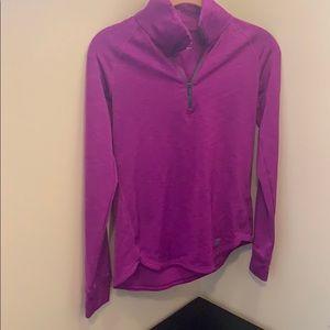 Under Armour Heathered Purple Pullover Hoodie